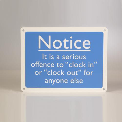 Clock in Notice
