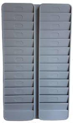 Plastic Swipe Card Rack
